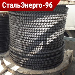 Канат стальной двойной свивки ГОСТ 7667-80